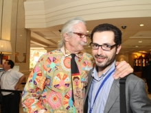 Simultaneous interpretation for American Md Patch Adams at Intercontinental Hotel